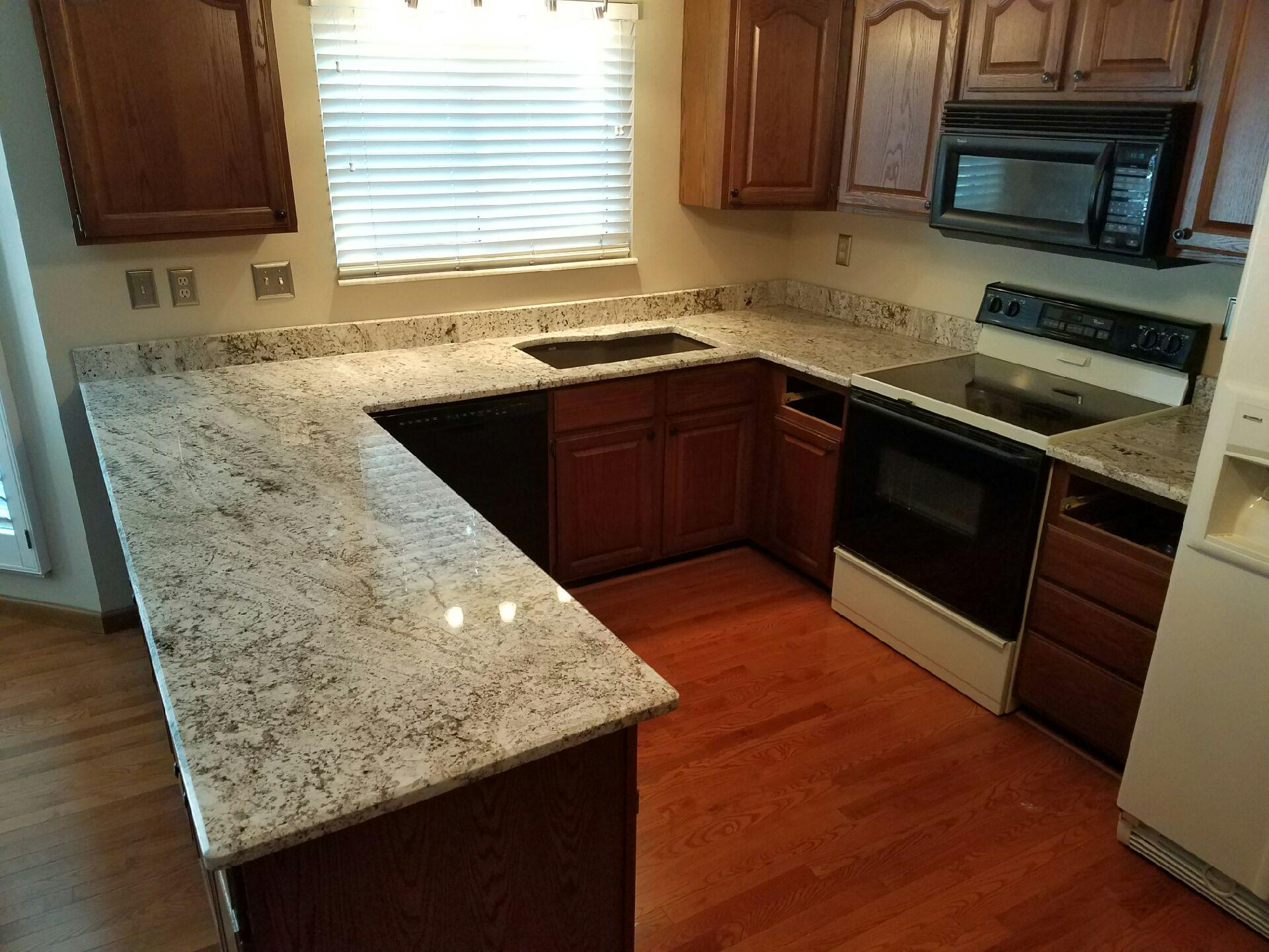 granite kitchen countertops pictures flooring options vinyl countertop gallery slabs o