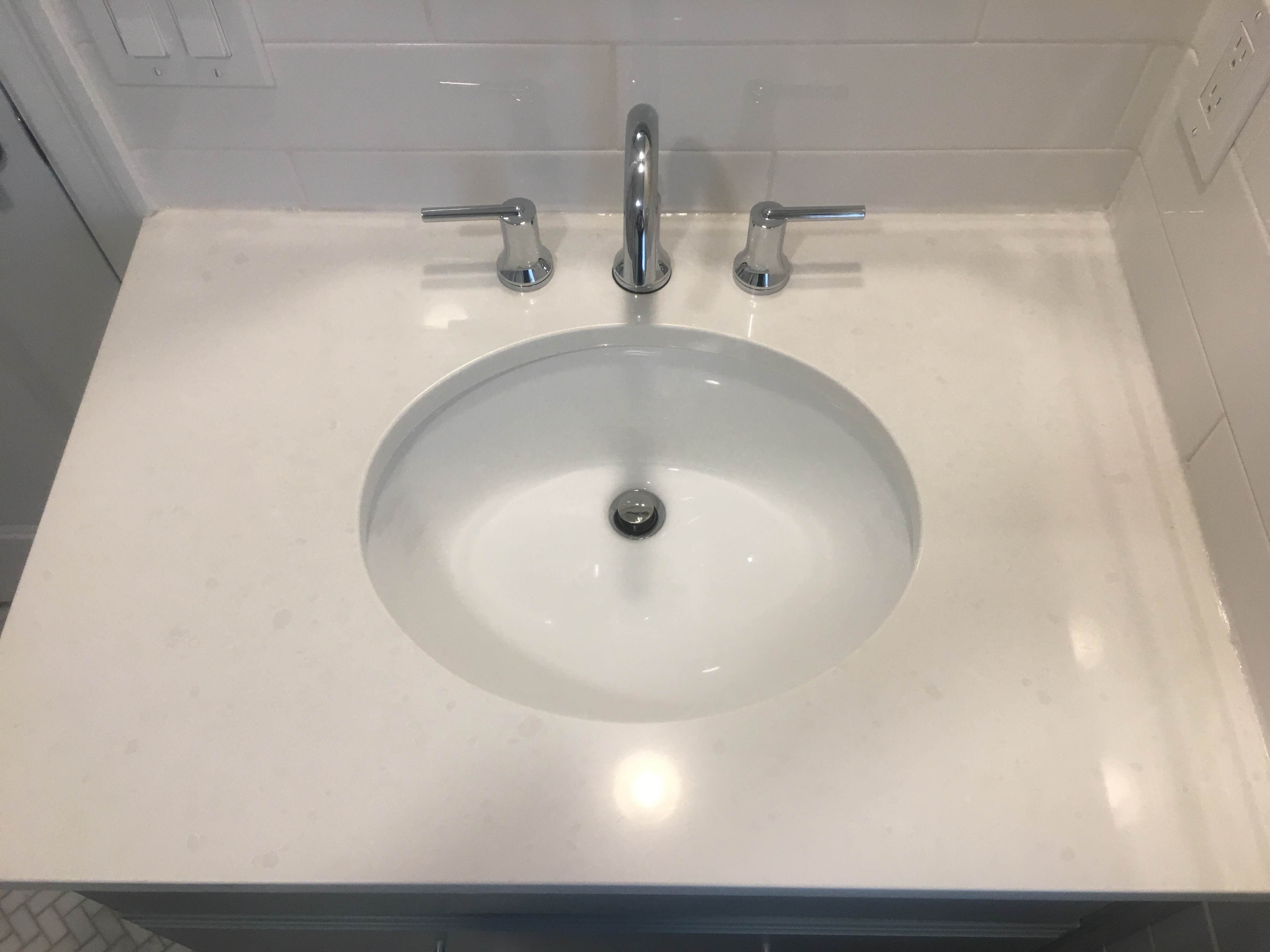 Quartz Bathroom Gallery  Vanity  Design  St Charles MO