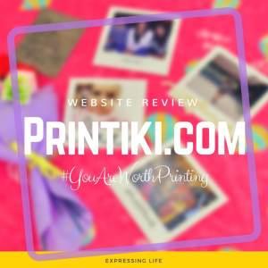 Website Review: Printiki.com | Expressing Life
