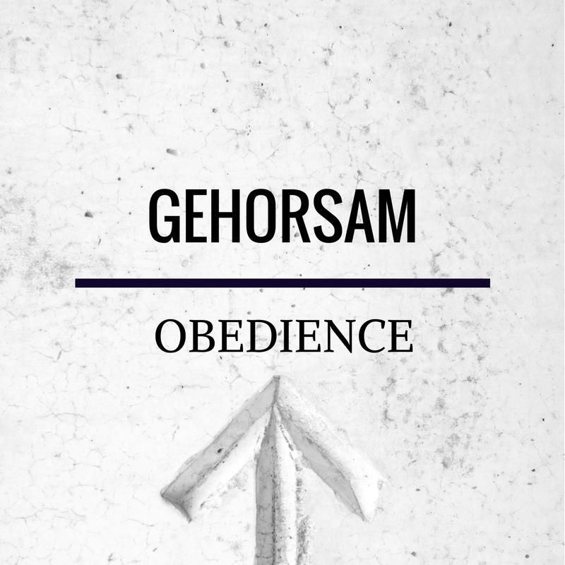 Obedience – Romans 5:19