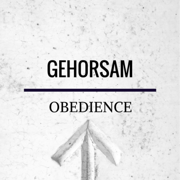 Obedience – Romans 5:19
