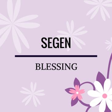Blessing – Psalms 24:5