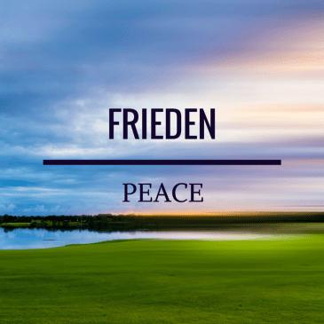 Peace – Isaiah 26:3