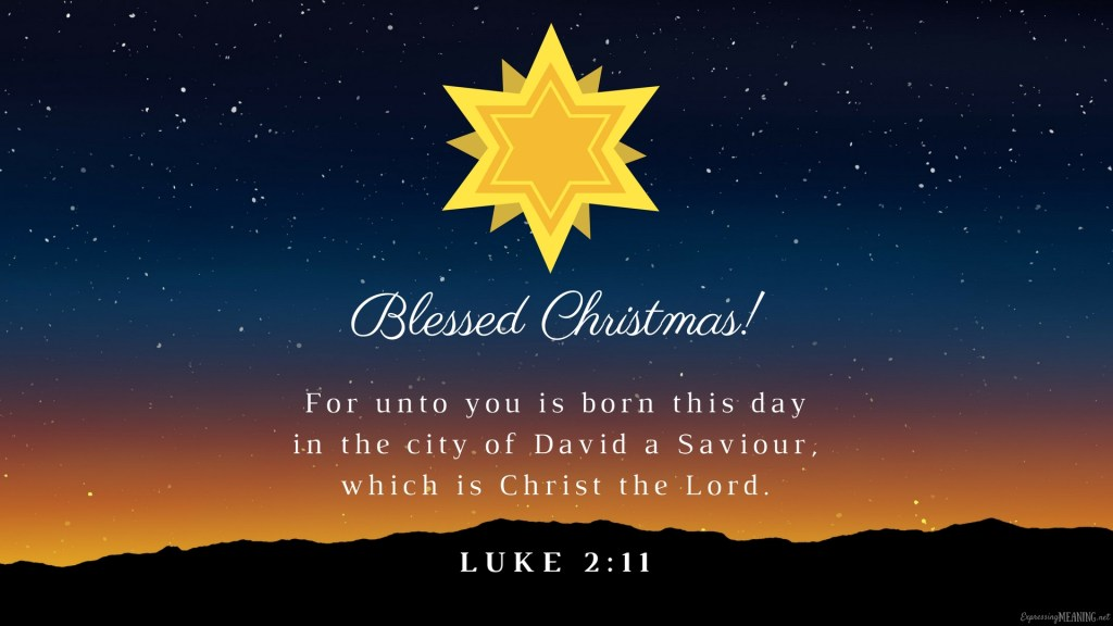 Blessed Christmas 2017