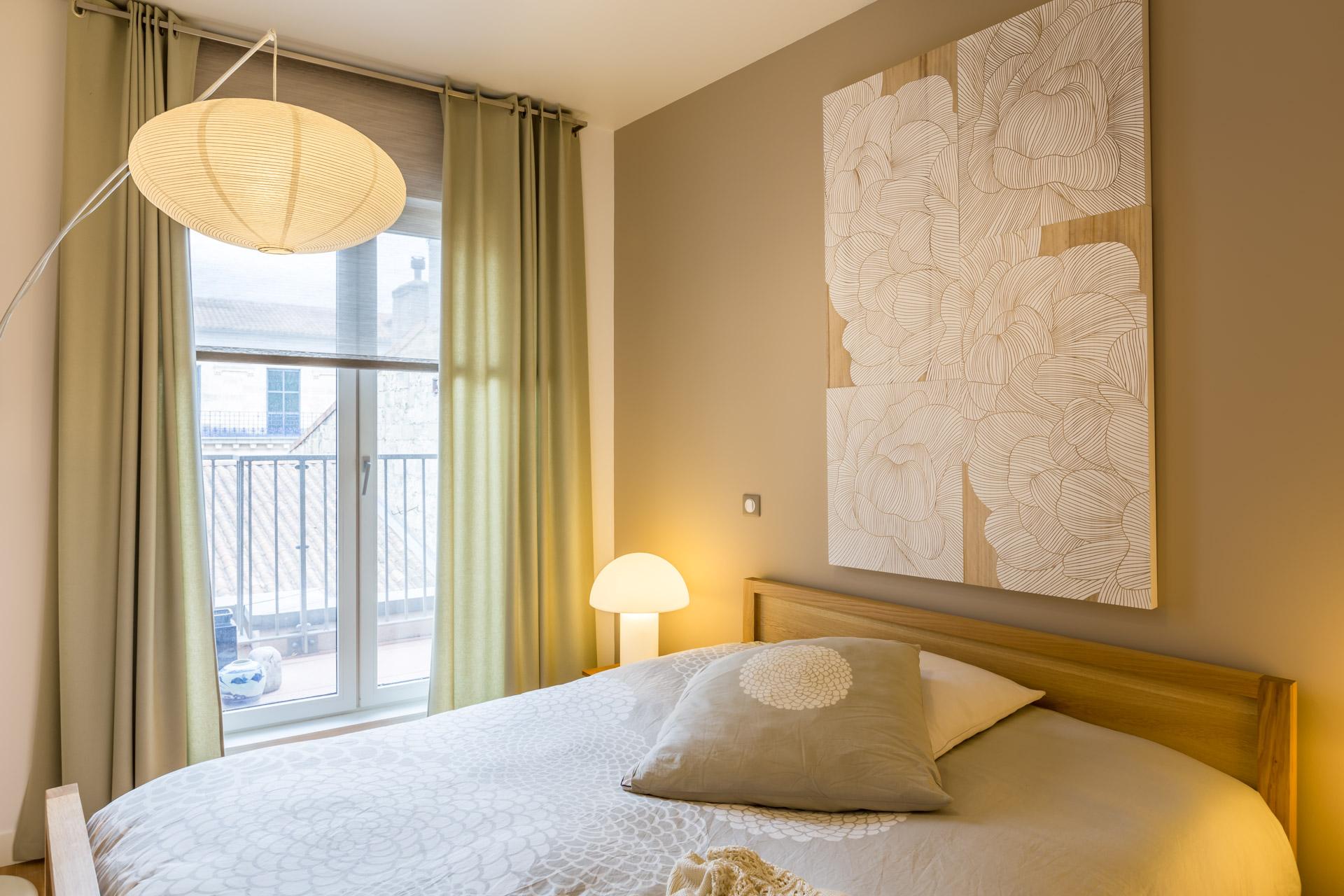 Dcoration dun appartement dans Le Carr Cheverus  Bordeaux  Expression architecture Intrieur