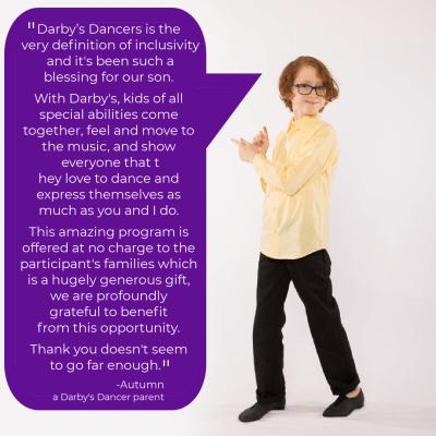 Darby's Dancer Testimonial