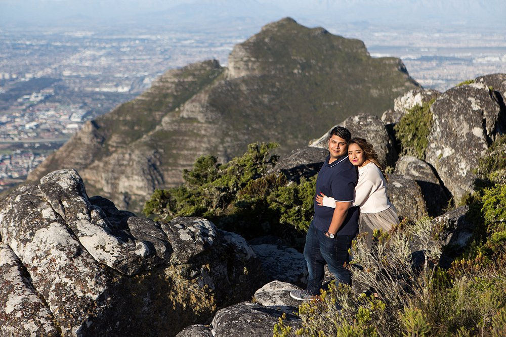 Table Mountain Proposal Shoot Expressions Photography 009