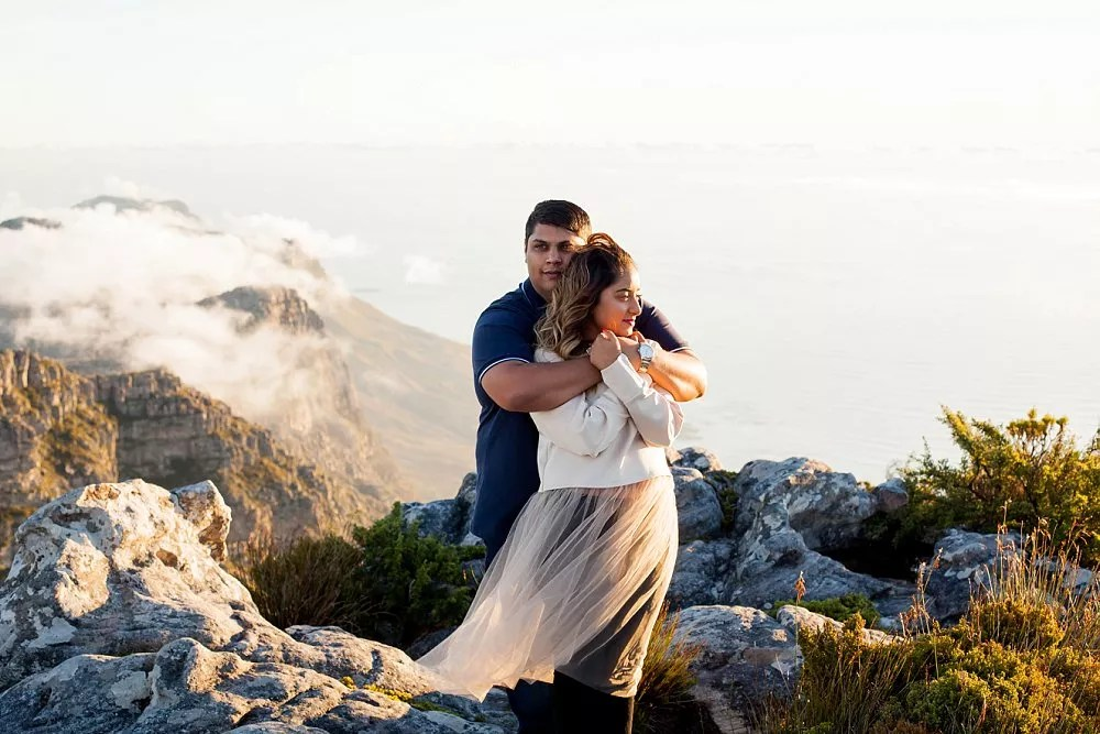 Table Mountain Proposal Shoot Expressions Photography 047