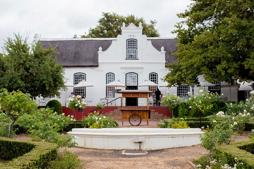 neethlingshof cape dutch architecture