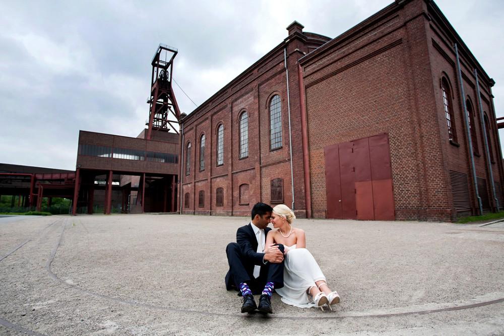 Zollverein wedding