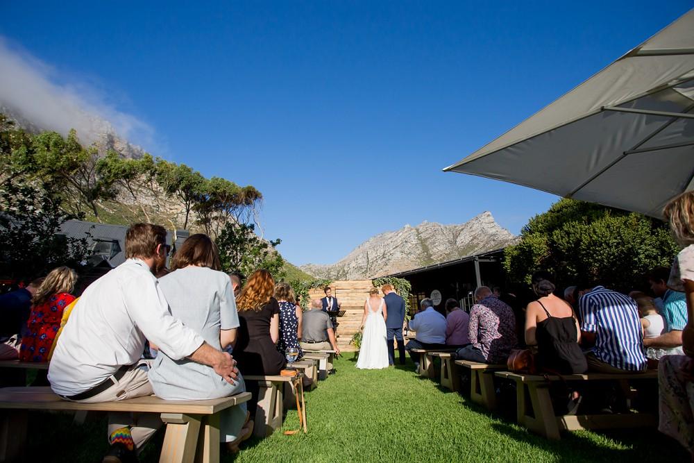 Wedding Ceremony Grille Shack