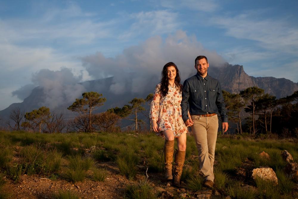 table mountain couple photo shoots