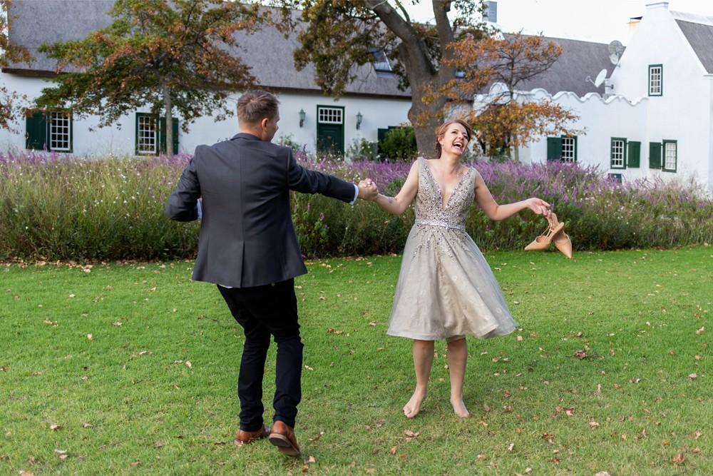 Cape Town elopement happy bride