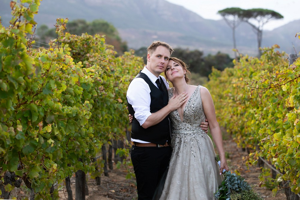 Cape Town elopement Steenberg Autumn in the vineyards