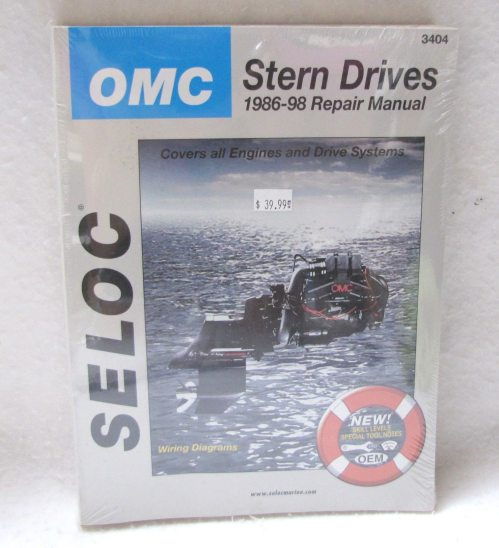 small resolution of seloc repair manual omc stern drives