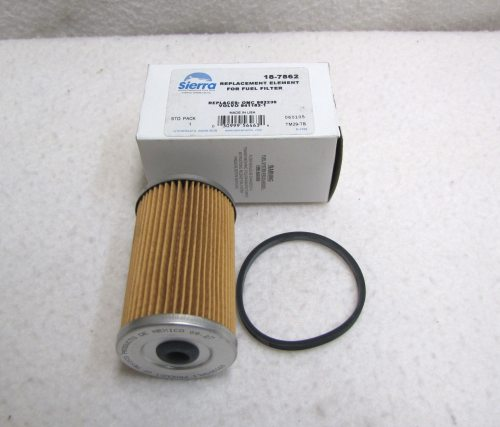 small resolution of sierra marine 18 7862 omc fuel filter element 0982230