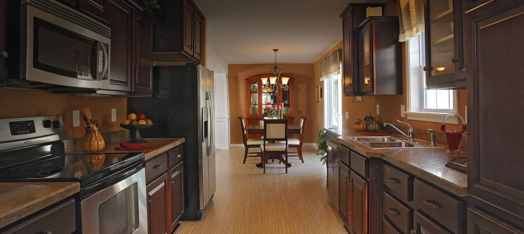 model homes kitchen pictures rug ideas modular and prefab house plans   expressmodular