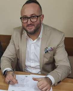 Ionel Dobrița, primarul comunei Berca