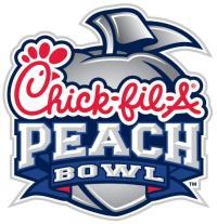 Peach Bowl Inc Chick-fil-A Peach Bowl Logo