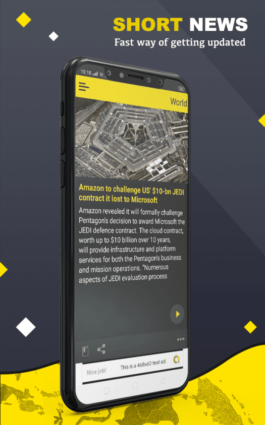 Short News Android App with PHP Script - 5