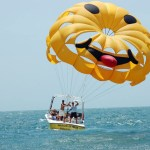 Myrtle Beach Parasailing - Smiley Face