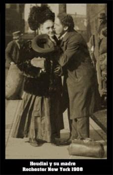 Houdini y su madre
