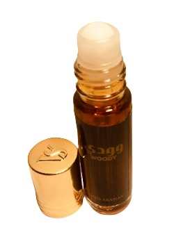 WOODY, ROLL ON PERFUME OIL 6 ML