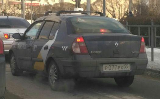 Renault Symbol Р077РХ55