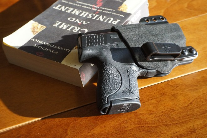 The original Incog with Smith & Wesson Shield.