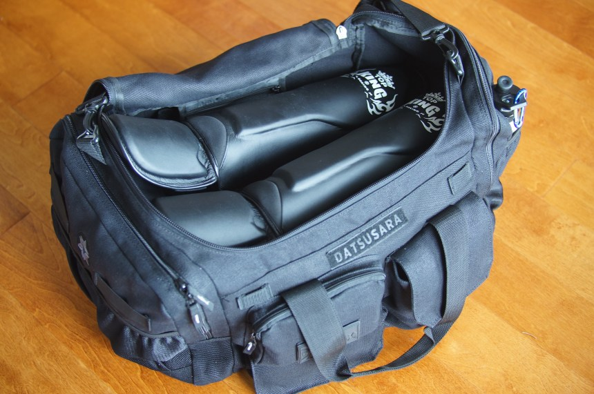 Datsusara Gear Bag Core filled with gear