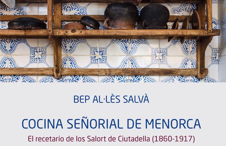 Portada cocina señorial de Menorca Bep Al·les Exquisita Menorca