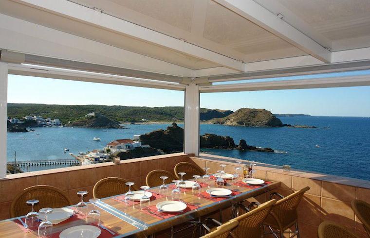 Restaurante Cap Roig Terraza Sa Mesquida Mahón Exquisita Menorca