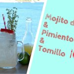 Tristan Timothy, coctelero menorquín, prepara un Mojito de Ginebra, Pimiento Rojo & Tomillo para Exquisita Menorca con la ginebra Premium iNNat