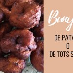 BUNYOLS DE PATATA O DE TOTS SANTS