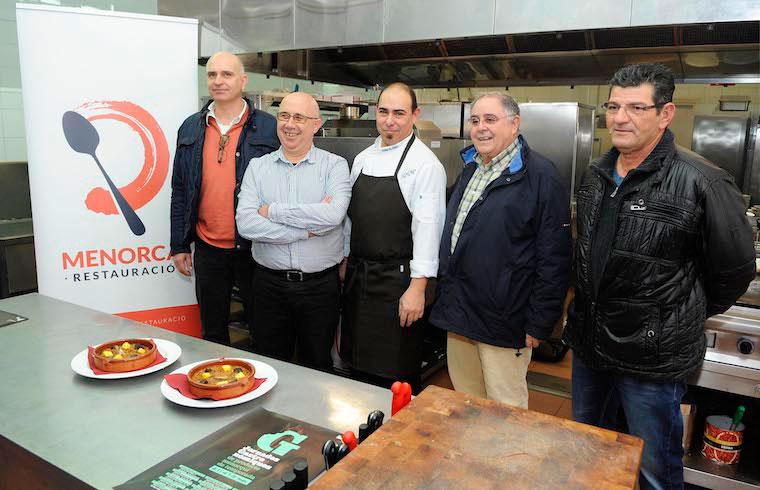 Presentación en Ca n'Aguedet de las Jornadas Gastronómicas de Producto Menorquín y de Temporada