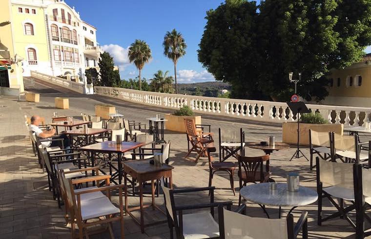 El Romero Terraza día Exquisita Menorca