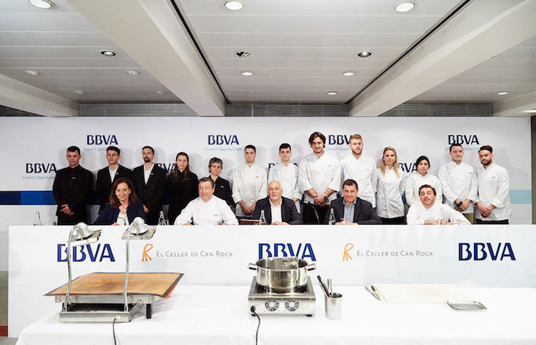 Francisco Terrés Lengronne Candidato Becas BBVA Celler de Can Roca