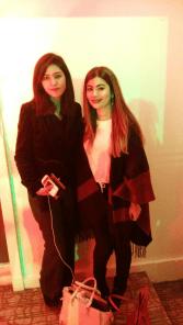 Shayaan Viqar and Eesha Omer