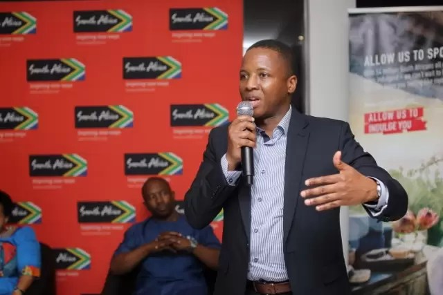 Mr Hloni Pitso, Regional manager west Africa. South african tourism. (640x427)