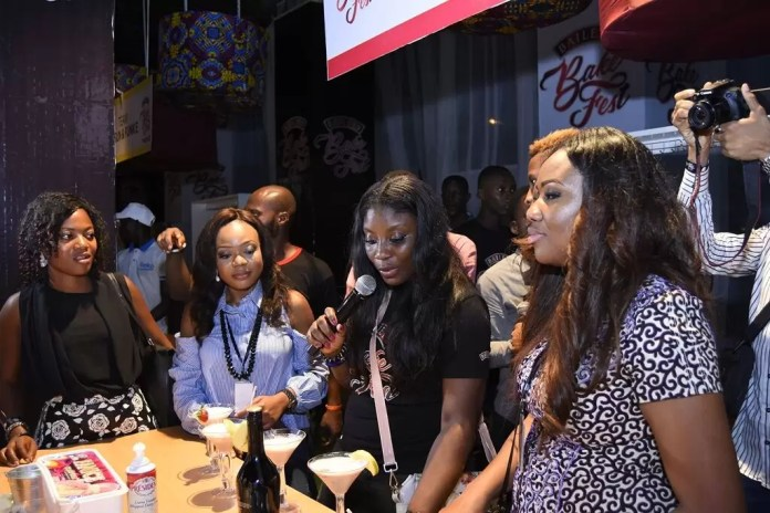 Judges for the competiton- Ify's Kitchen, Brand Manager, Ufuoma Udjoh & Lara Rawa