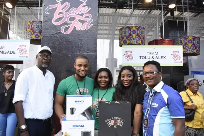Winner of Baileys BakeFest 2017 - Alexx Ekubo & Tolu Samaiye