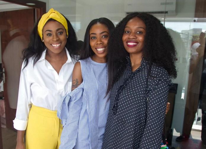 Zina Anumudu, Derin Odugbesan & Salewa Akin-Taylor