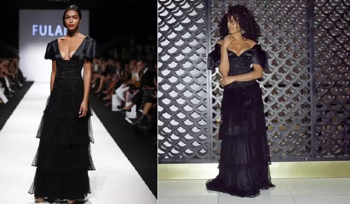 RUNWAY TO REDCARPET: AGBANI DAREGO, MICHELLE WILLIAMS, SEYI SHAY, LIL MAMA, CANDACE BUSHNELL BRINGS FULANI FASHION DRESSES OFF THE RUNWAY ONTO THE RED CARPET 2