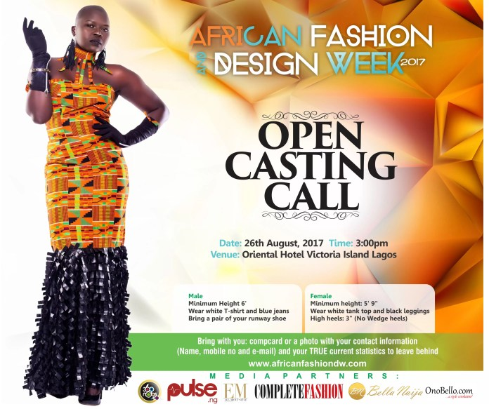 EMNews - Calling all Models! Audition to Walk the Runway at African Fashion & Design Week 2017 1