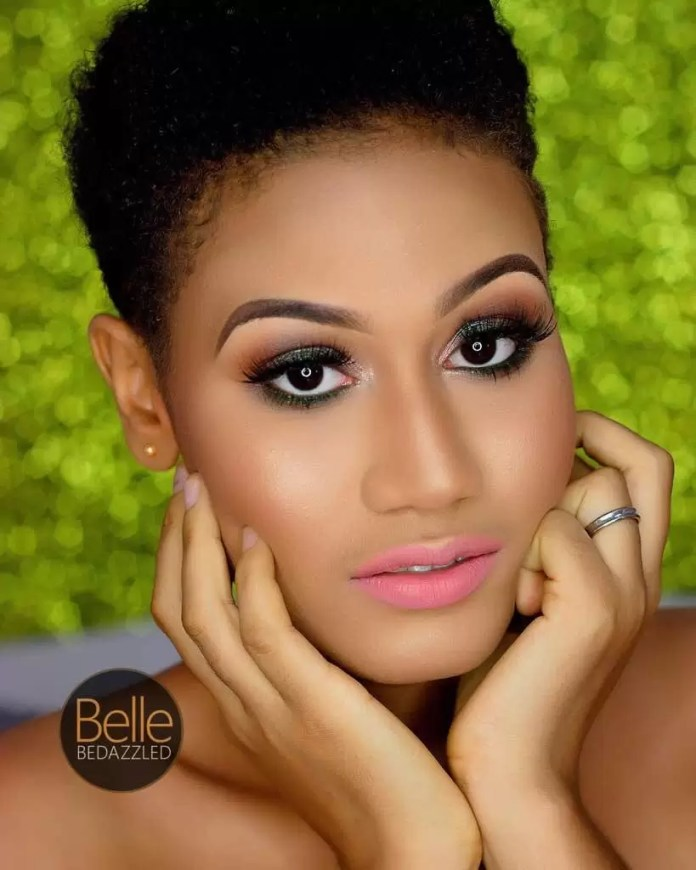 EMNews - Alexandra Adaku Sagee 2017 Face of CandyCity Nigeria Most Outstanding stuns in birthday photos 3