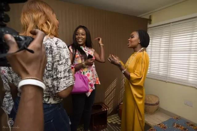 EMNews - Osas Ighodaro, Idia Aisien, Maria Okan, attend the Mai-Saa Northern beauty spa launch. 60