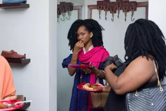 EMNews - Osas Ighodaro, Idia Aisien, Maria Okan, attend the Mai-Saa Northern beauty spa launch. 45