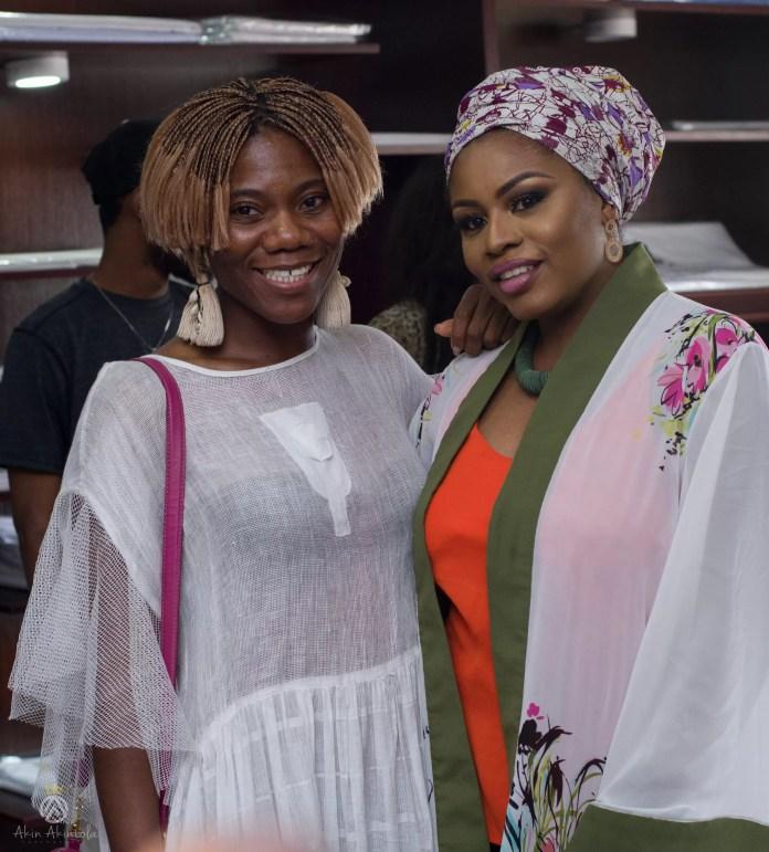 EMNews - Osas Ighodaro, Idia Aisien, Maria Okan, attend the Mai-Saa Northern beauty spa launch. 61