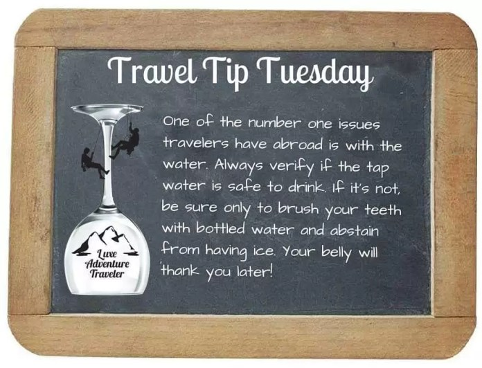 Travel Tuesday- travel tips 2