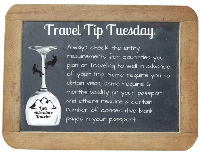 Travel Tuesday- travel tips 4